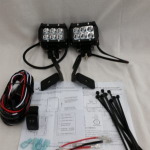 RZR 900,1000 Complete Spot Light Kit