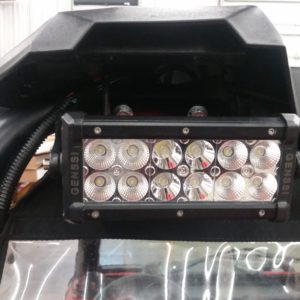 RZR 900,1000S Single Rear Light Bracket
