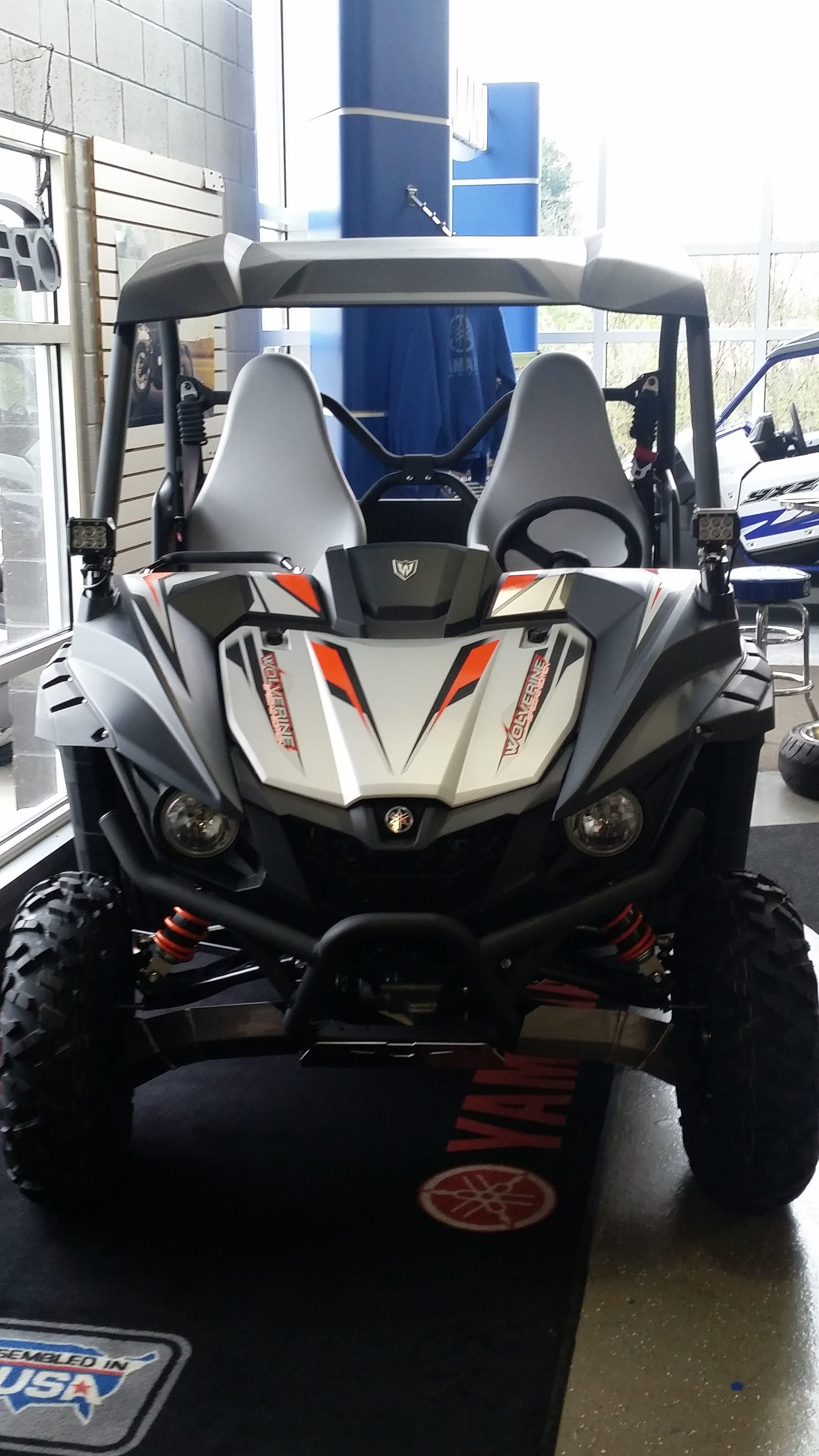 """Yamaha Wolverine X2 X4 R-Spec 4x4 2016-2019 Tusk LED Light Bar Kit 30/"""""""
