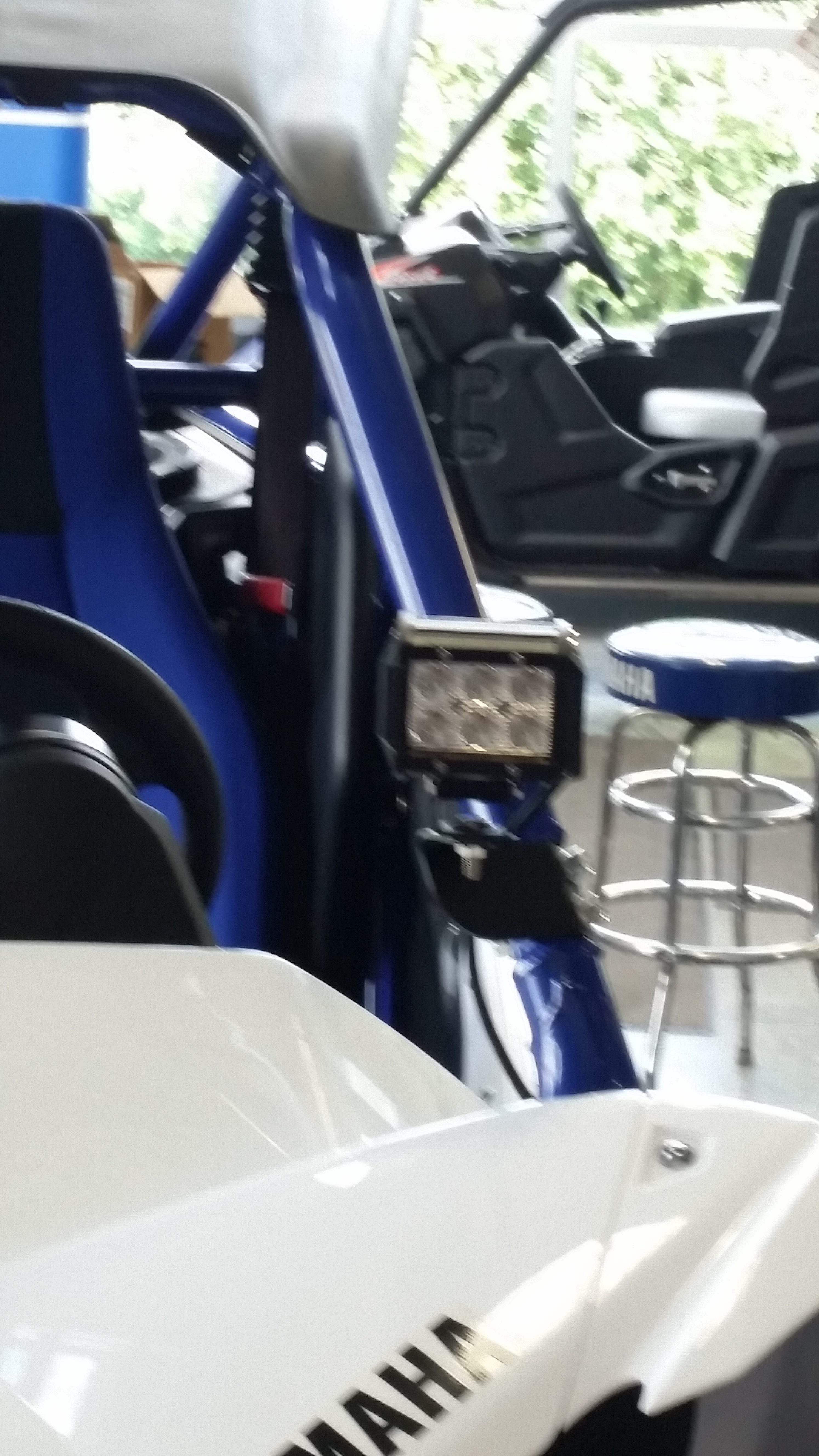 Yamaha Yxz Spot Light Brackets Get Lit